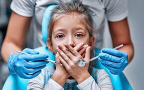 próchnica, zgorzel zęba, choroby zębów mlecznych